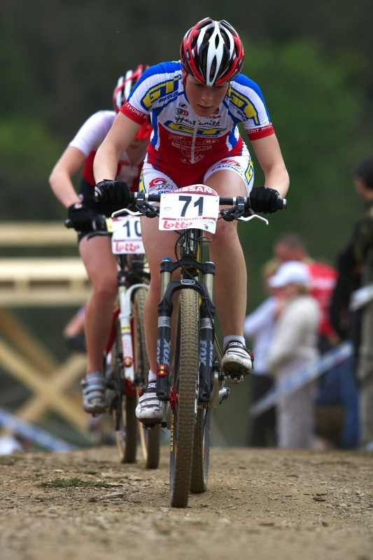 Nissan UCI MTB World Cup XC #3 - Houffalize 2.-3.5. 2009 - Lucie Vesel�