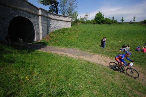 Author Šela Marathon 2009: železniční tunel