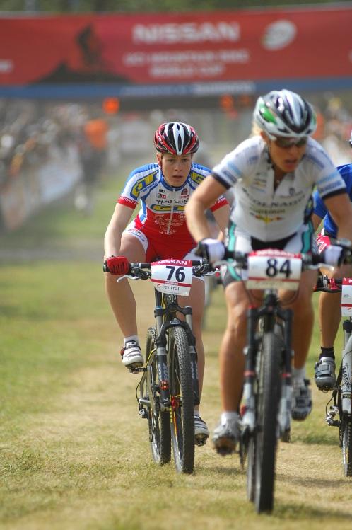 Nissan UCI World Cup #2 Offenburg /GER/ 26.4.2009 - Lucie Veselá