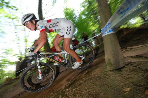 Nissan UCI World Cup #2 Offenburg /GER/ 26.4.2009 - Maje Wloszczowské se na SP moc nedaří