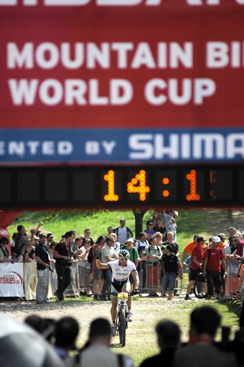 Nissan UCI World Cup #2 Offenburg /GER/ 26.4.2009 - José Antonio Hermida