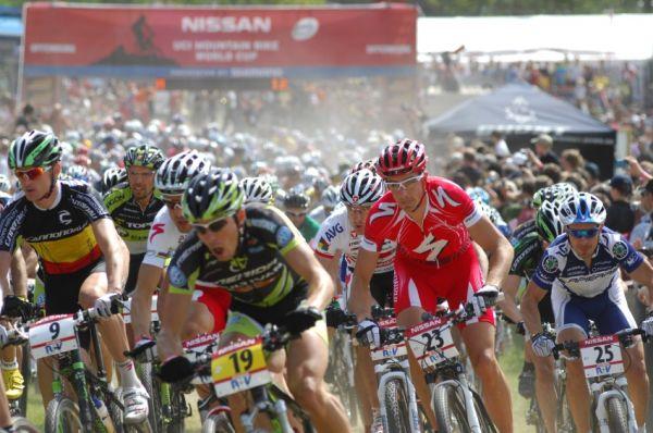 Nissan UCI World Cup #2 Offenburg /GER/ 26.4.2009 - start mužů