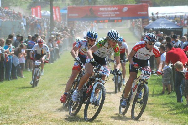 Nissan UCI World Cup #2 Offenburg /GER/ 26.4.2009 - Ondřej Cink začínal ze samého konce startovního pole