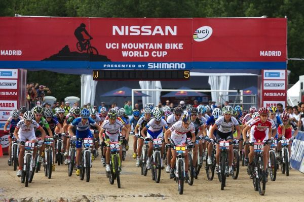 Nissan UCI MTB World Cup XC #4 - Madrid 24.5. 2009 - start �en
