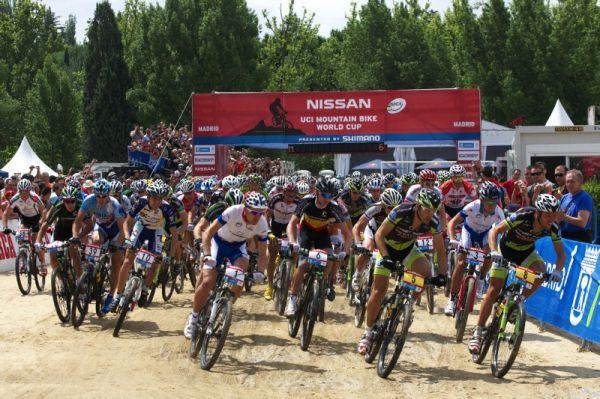 Nissan UCI MTB World Cup XC #4 - Madrid 24.5. 2009 - start z�vodu mu��