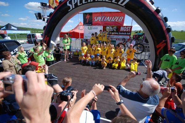 Specialized Extrém Bike Most 2009: vyhlášení závodů nejmenších