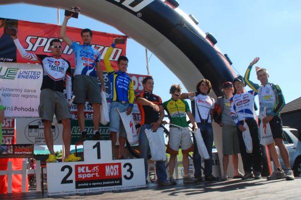 Specialized Extrém Bike Most 2009: 1. Trunschka, 2. Vokrouhlík, 3. Horák, 4. Hlaváč, 5. Nebesář ...