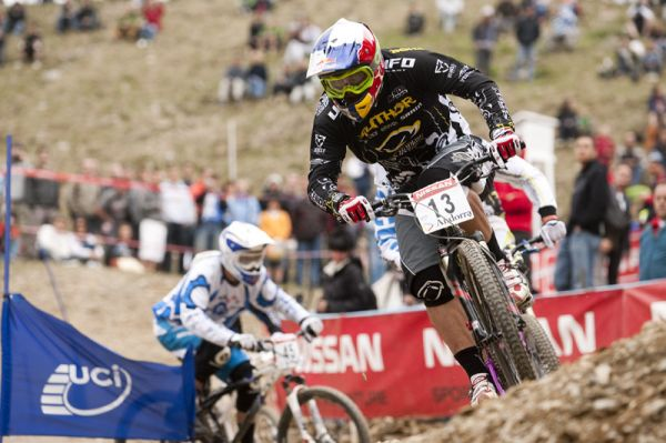 Nissan UCI World Cup 4X & DH Andora - Vallnord 2009: Michal Prokop /foto: Gary Perkin/
