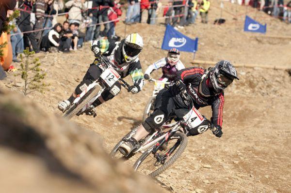 Nissan UCI World Cup 4X & DH Andora - Vallnord 2009: Fionn Griffiths /foto: Gary Perkin/