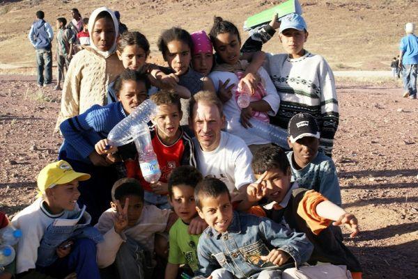 Nissan Desert Race 2009 Jan Kopka s dětmi