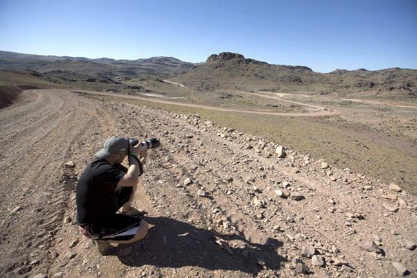 Nissan Desert Race 2009 fotograf fotící