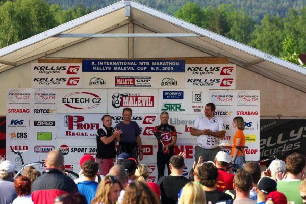 Kelly's Malevil Cup 2009 - ČP XCM #2: vyhlášení handicapovaných cyklistů