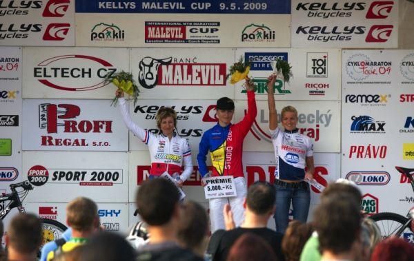 Kelly's Malevil Cup 2009 - ČP XCM #2: 1. Radová, 2. Krnáčová, 3. Loubková