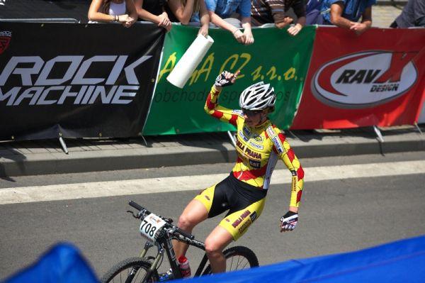 4. závod českého poháru Rockmachine XC Cupu, Teplice 20.6. 2009 - Dáša Labáková