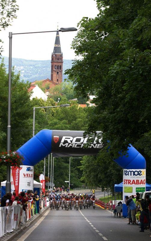 4. z�vod �esk�ho poh�ru Rockmachine XC Cupu, Teplice 20.6. 2009