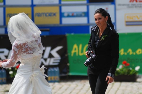 �P MTB XC #4 2009 - Teplice: asi za�neme fotit svatby...