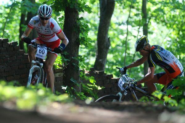 ČP MTB XC #4 2009 - Teplice: Christoph Soukup a Filip Eberl