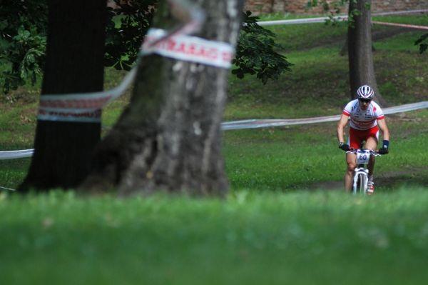 ČP MTB XC #4 2009 - Teplice: Christoph Soukup v teplickém parku