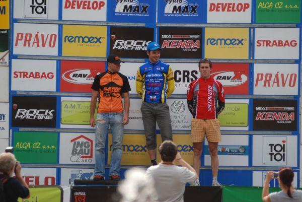 ČP MTB XC #4 2009 - Teplice: Žilák nejlepší v kategorii Hobby