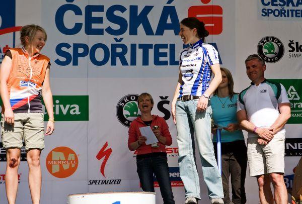 KPŽ Orlík 2009 - Z30: Petra Kottová: rutinně šla na první, musela na druhý...