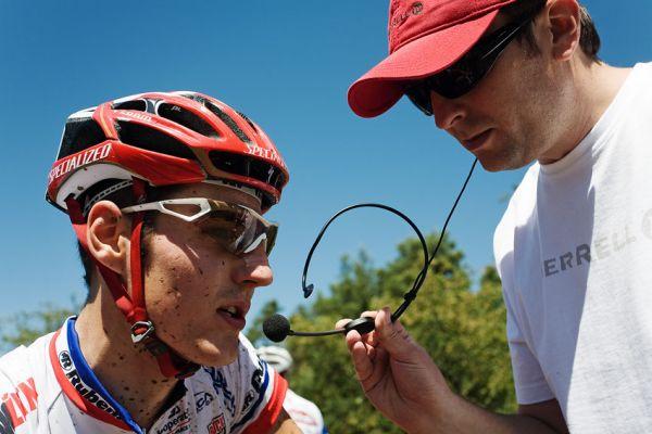 KPŽ Orlík 2009 - Jarda Kulhavý poskytuje prvni rozhovor Tomáši Hauptvogelovi