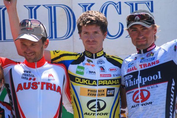 Lidice 2009 - Lidické okruhy: tři nejlepší z poslední etapy