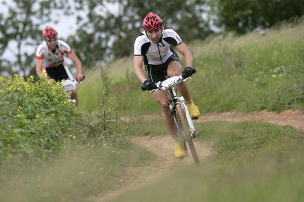 Giant Berounský BikeMaraton 2009: 3. na krátké trati David Kramár