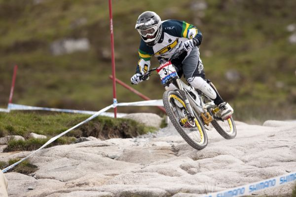 Nissan UCI World Cup DH & 4X #4 - Fort William /GBR/ 2009: Mick Hannah (photo: Gary Perkin(