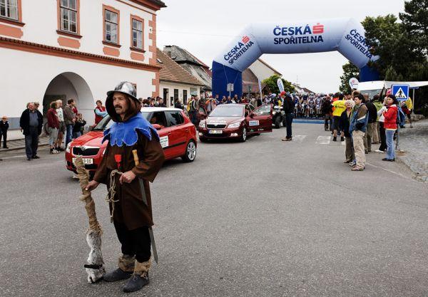 KPŽ 2009 Jistebnický kancionál - jistebnický husita v roli startmaršála