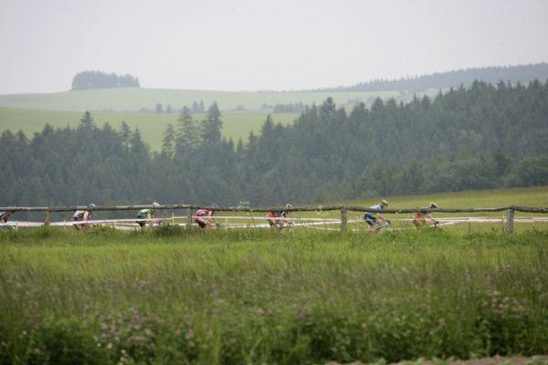 ČP MTB XC #3 2009 - Okrouhlá: start juniorů