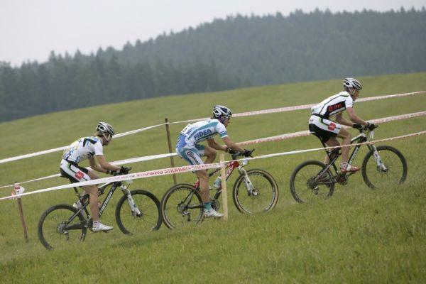 ČP MTB XC #3 2009 - Okrouhlá: Zdeněk Štybar předvedl bleskurychlou stíhací jízdu