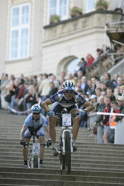 Pražské schody ČS 2009: Cedric Ravanel a Pavel Zerzan
