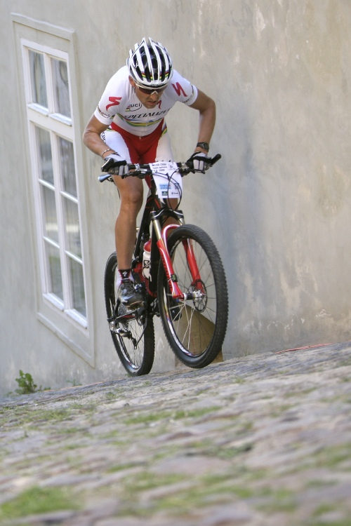 Pražské schody ČS 2009: Christoph Sauser
