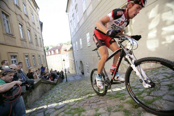 Pražské schody ČS 2009: Tomáš Vokrouhlík na Jánském vršku