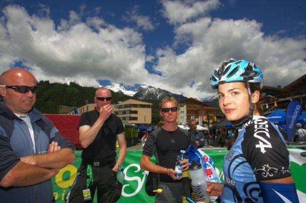 Alpentour Trophy, Schladming /AUT/ - 3. etapa 31.5. 2009 - tým České spořitelny MTB