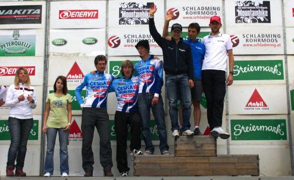 Alpentour Trophy, Schladming /AUT/ - 4. etapa 1.6. 2009 - Česká spořitelna MTB a Full Dynamix