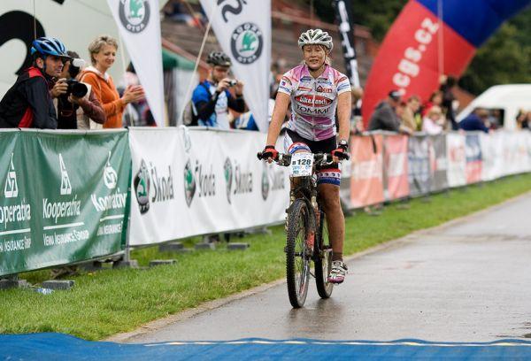 KPŽ Praha-Karlštejn 2009 - vítězná Barbora Hanušová