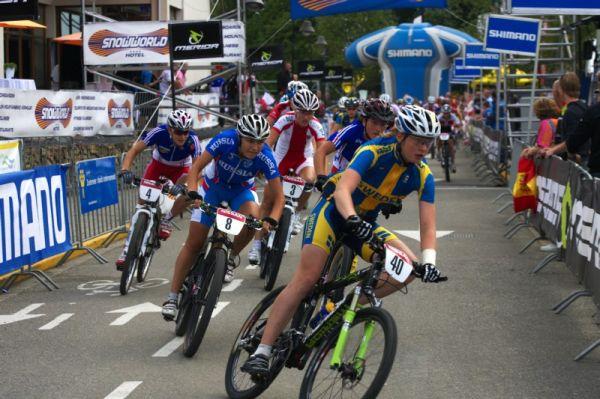Mistrovství Evropy MTB XC 2009 - Zoetermeer /NED/ - U23: start