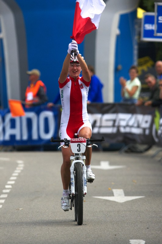 Mistrovství Evropy MTB XC 2009 - Zoetermeer /NED/ - U23: Alexandra Dawidowicz