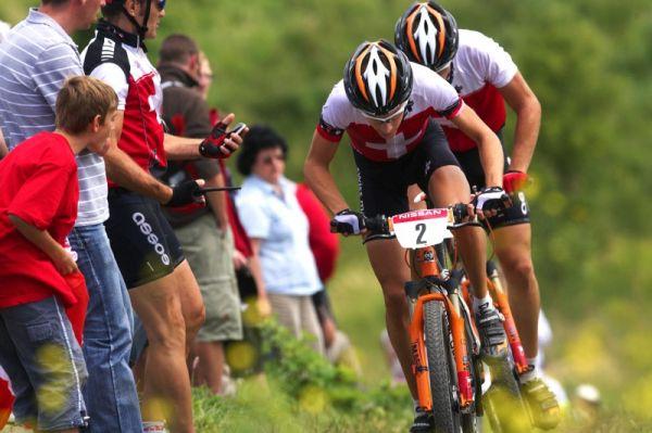 Mistrovstv� Evropy MTB XC 2009 - Zoetermeer /NED/ - U23: Giger a Litcher