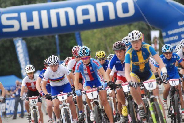 Mistrovství Evropy XC 2009 - Zoetermeer /NED/ - muži a ženy U23: start žen do 23 let