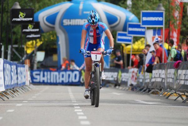 Mistrovstv� Evropy XC 2009 - Zoetermeer /NED/ - mu�i a �eny U23: Tereze Hu��kov� z�vod nevy�el