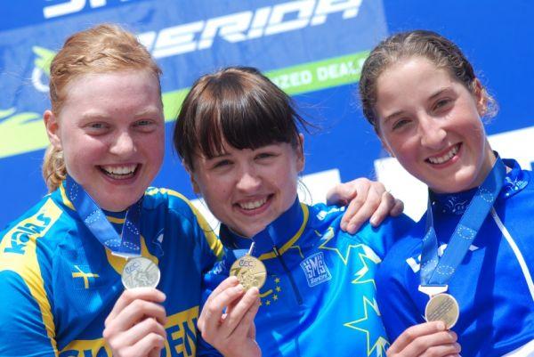 Mistrovství Evropy XC 2009 - Zoetermeer /NED/ - muži a ženy U23: 1. Dawidowicz, 2. Engen, 3. Bresset