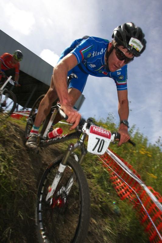 Mistrovství Evropy MTB XC 2009 - Zoetermeer /NED/ - juniorky & junioři: Gerhard Kerschbaumer
