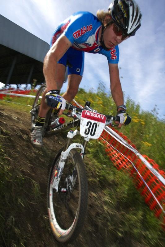 Mistrovství Evropy MTB XC 2009 - Zoetermeer /NED/ - juniorky & junioři: Daniel Veselý