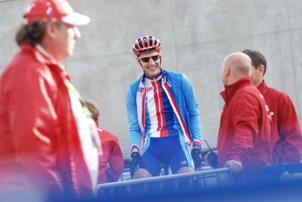 Mistrovství Evropy MTB XC 2009 - Zoetermeer /NED/ - týmové štafety: Jaroslav Kulhavý posledním článkem českého týmu