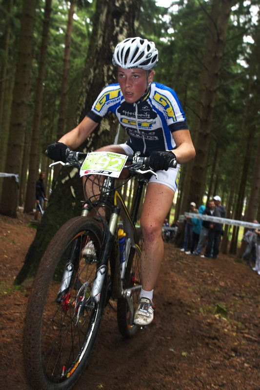 Merida Bike Vysočina 2009 - XCO - Lucie Veselá