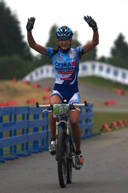 Merida Bike Vysočina 2009 - XCO - Tereza Huříková vítězí