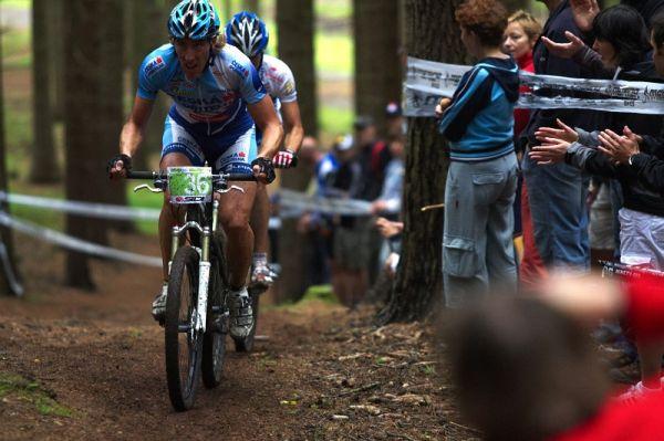 Merida Bike Vysočina 2009 - XCO - Milan Spěšný a Jan Škarnitzl