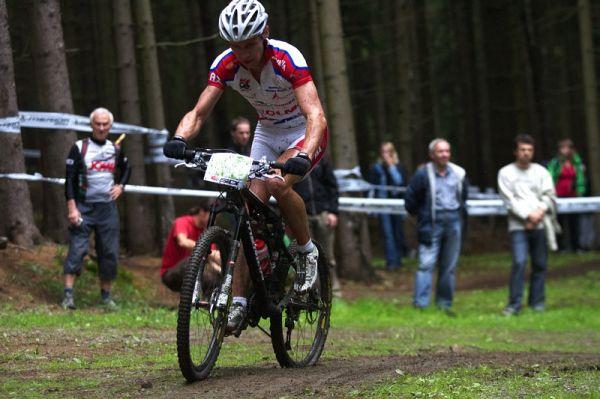 Merida Bike Vysočina 2009 - XCO - Tomáše Doležela potkala smůla